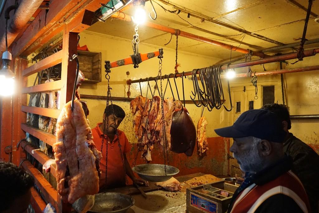 Fisch- und Fleischmarkt in Nuwara Eliya