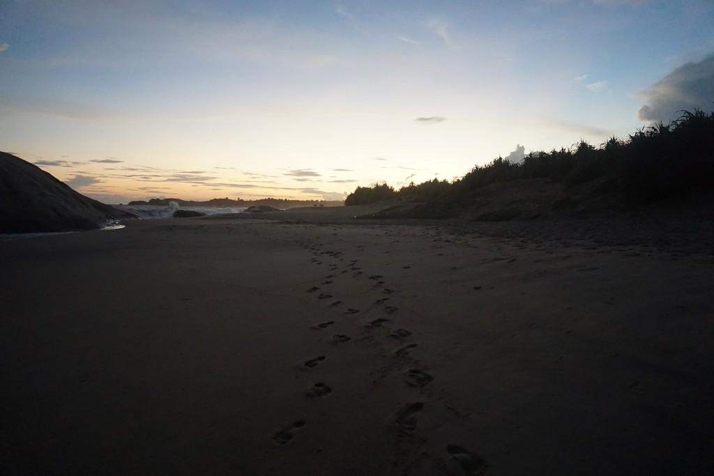 Das letzte kitschige Fußabdruck-Foto, versprochen!