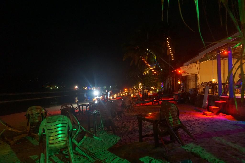 unzählige Strandlokale