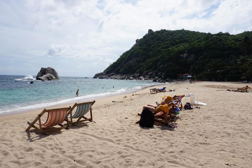 Die Bucht vorm Montalay Resort