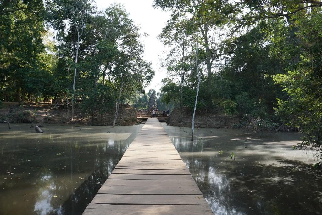 Der Steg zu Preah Neak Poan