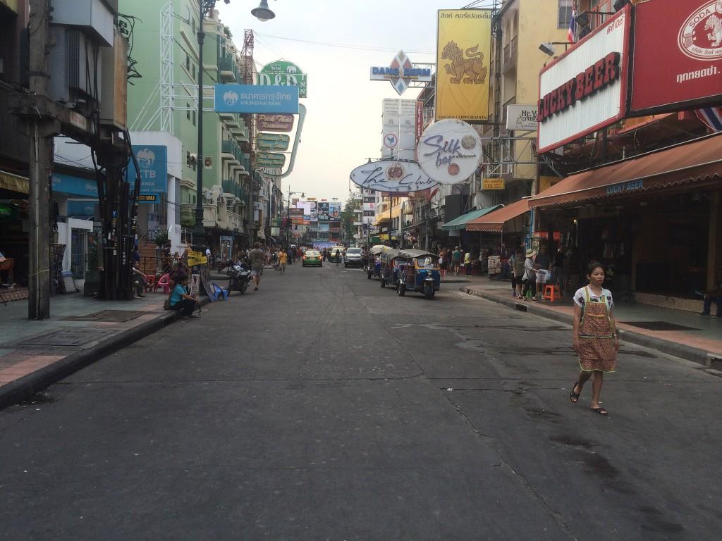 Die leere Kao san Road
