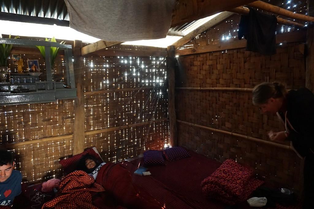 Unser Schlafzimmer am Morgen