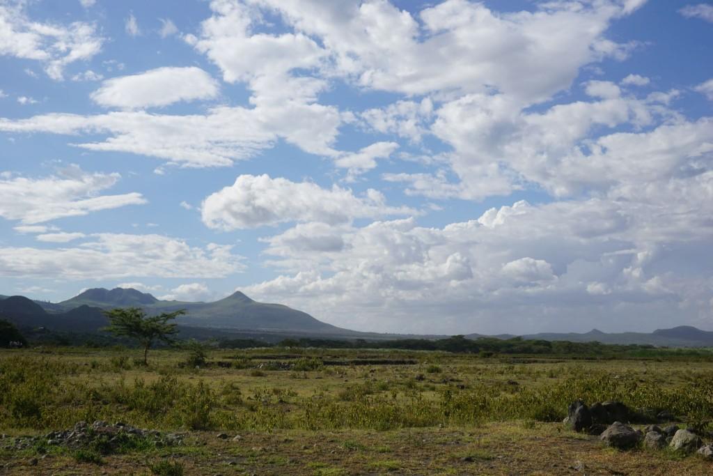 Mukuru, ein heiliger Berg der Maasai
